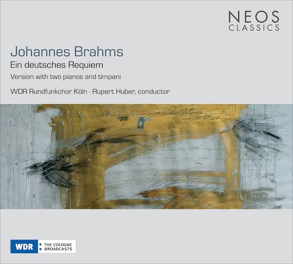 CD Cover Brahms Requiem front
