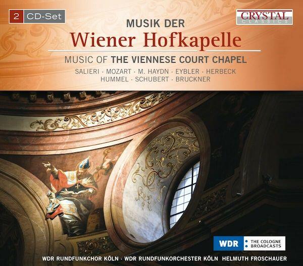CD Cover Wiener Hofkapelle front