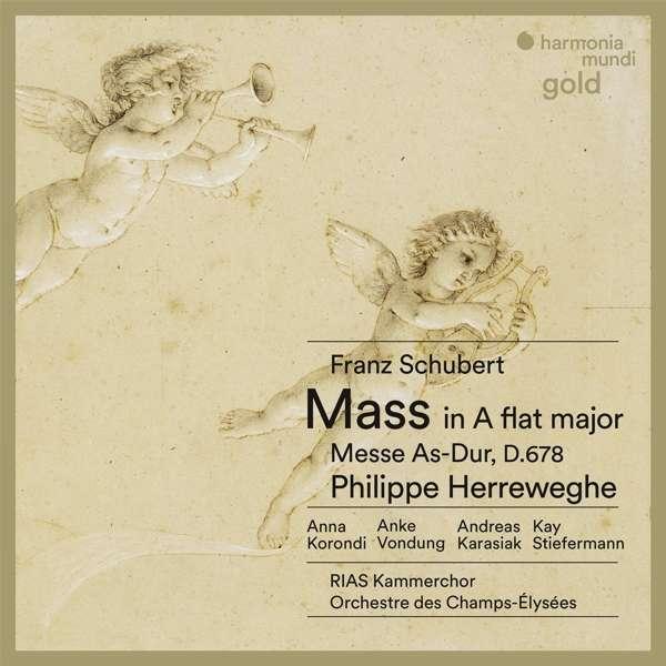 CD Cover Schubert Messe front